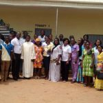 After Training Pictures with staff and management of Sacred Heart School