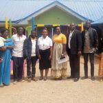 After training with Calvary School Staff